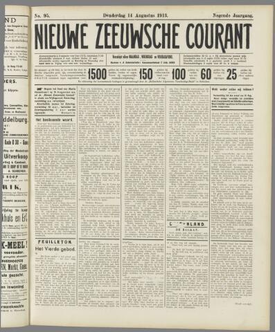 Nieuwe Zeeuwsche Courant 1913-08-14