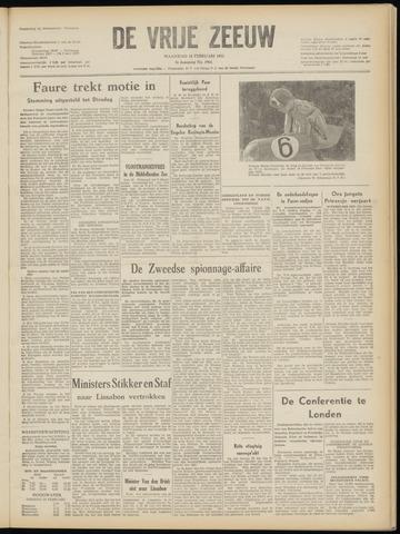 de Vrije Zeeuw 1952-02-18