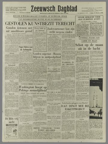 Zeeuwsch Dagblad 1958-10-10