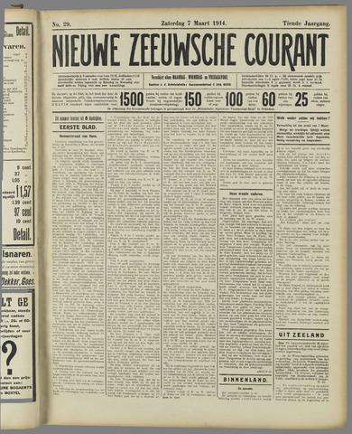 Nieuwe Zeeuwsche Courant 1914-03-07