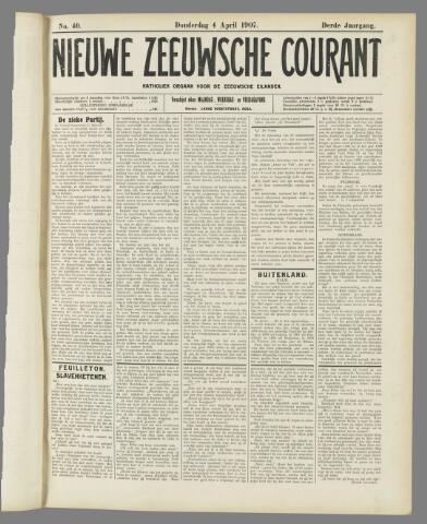 Nieuwe Zeeuwsche Courant 1907-04-04