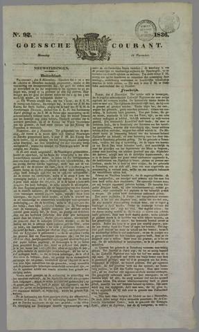Goessche Courant 1836-11-14