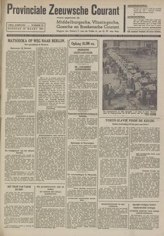 Provinciale Zeeuwse Courant 1941-03-25