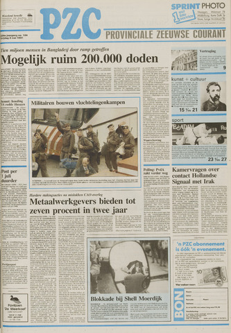 Provinciale Zeeuwse Courant 1991-05-03