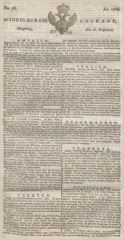 Middelburgsche Courant 1768-08-16
