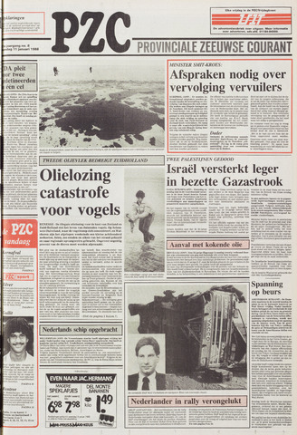Provinciale Zeeuwse Courant 1988-01-11