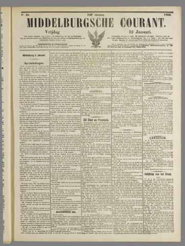 Middelburgsche Courant 1906-01-12