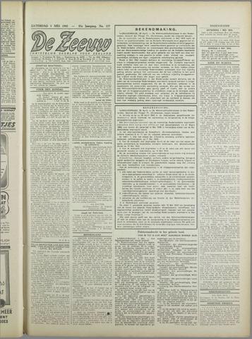 De Zeeuw. Christelijk-historisch nieuwsblad voor Zeeland 1943-05-01