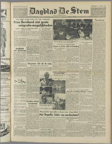 de Stem 1950-03-23