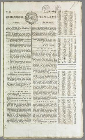 Zierikzeesche Courant 1824-04-23