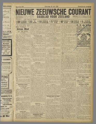 Nieuwe Zeeuwsche Courant 1921-07-23