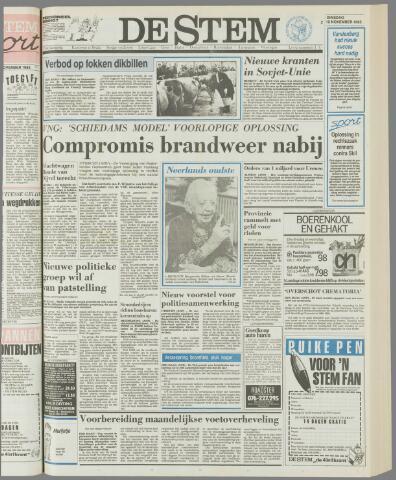 de Stem 1985-11-12