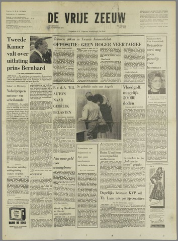de Vrije Zeeuw 1971-11-03