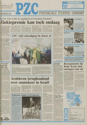 Provinciale Zeeuwse Courant 1992-06-25