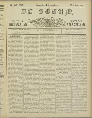 De Zeeuw. Christelijk-historisch nieuwsblad voor Zeeland 1905-12-04