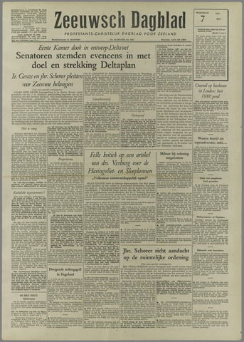 Zeeuwsch Dagblad 1958-05-07