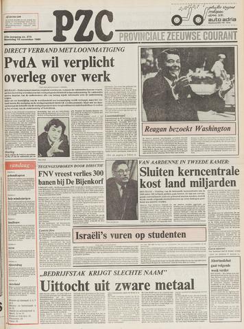 Provinciale Zeeuwse Courant 1980-11-19