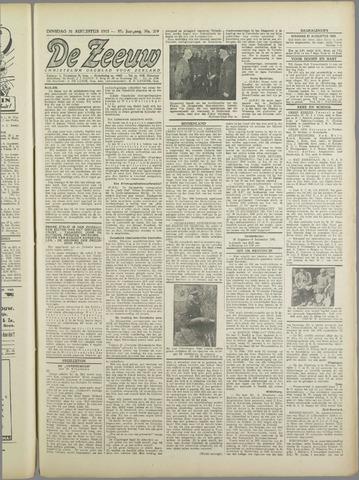 De Zeeuw. Christelijk-historisch nieuwsblad voor Zeeland 1943-08-31