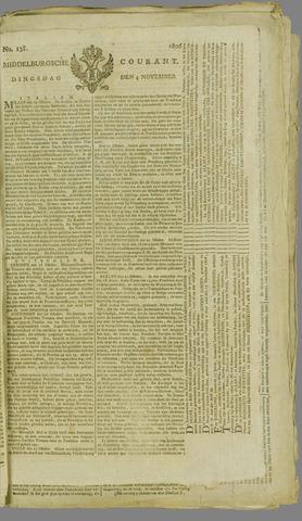 Middelburgsche Courant 1806-11-04