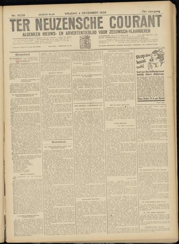 Ter Neuzensche Courant. Algemeen Nieuws- en Advertentieblad voor Zeeuwsch-Vlaanderen / Neuzensche Courant ... (idem) / (Algemeen) nieuws en advertentieblad voor Zeeuwsch-Vlaanderen 1936-12-04