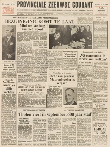Provinciale Zeeuwse Courant 1966-07-13
