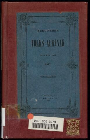 Zeeuwsche Volks-Almanak / Nehalennia 1847-01-01