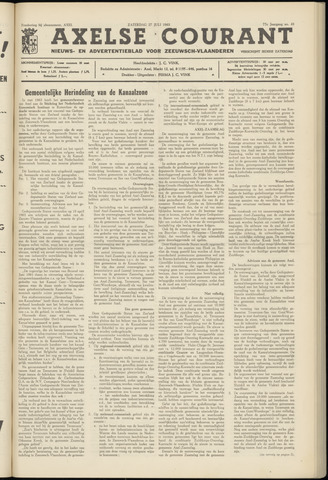 Axelsche Courant 1963-07-27