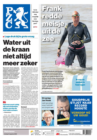Provinciale Zeeuwse Courant 2020-08-11