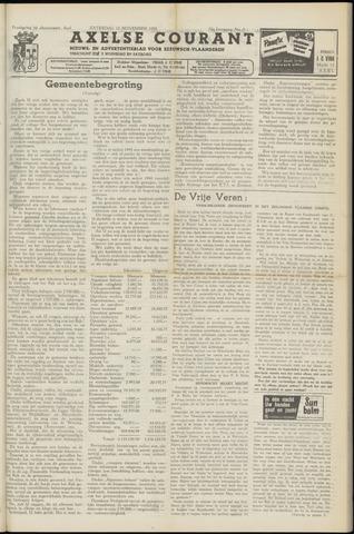 Axelsche Courant 1958-11-15