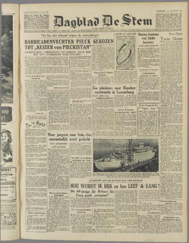 de Stem 1949-10-12