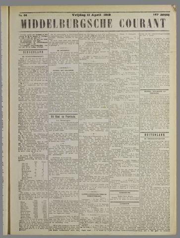 Middelburgsche Courant 1919-04-11