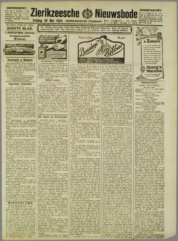 Zierikzeesche Nieuwsbode 1924-05-28