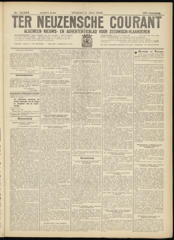 Ter Neuzensche Courant. Algemeen Nieuws- en Advertentieblad voor Zeeuwsch-Vlaanderen / Neuzensche Courant ... (idem) / (Algemeen) nieuws en advertentieblad voor Zeeuwsch-Vlaanderen 1940-07-05