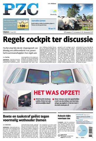 Provinciale Zeeuwse Courant 2015-03-27