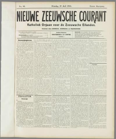 Nieuwe Zeeuwsche Courant 1905-07-18