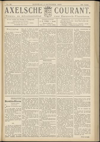 Axelsche Courant 1938-10-04