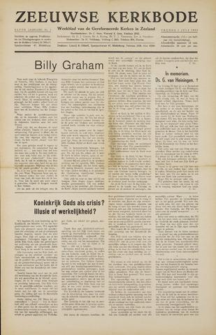 Zeeuwsche kerkbode, weekblad gewijd aan de belangen der gereformeerde kerken/ Zeeuwsch kerkblad 1955-07-01