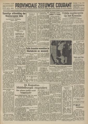Provinciale Zeeuwse Courant 1948-08-17