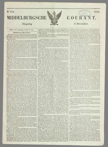 Middelburgsche Courant 1862-12-02