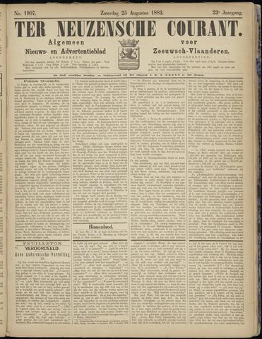 Ter Neuzensche Courant. Algemeen Nieuws- en Advertentieblad voor Zeeuwsch-Vlaanderen / Neuzensche Courant ... (idem) / (Algemeen) nieuws en advertentieblad voor Zeeuwsch-Vlaanderen 1883-08-25
