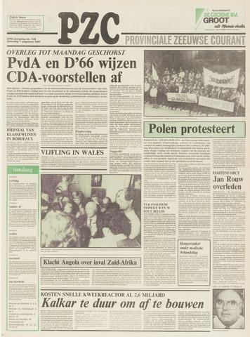 Provinciale Zeeuwse Courant 1981-08-01