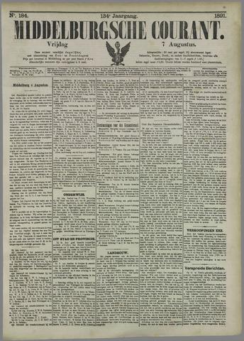 Middelburgsche Courant 1891-08-07