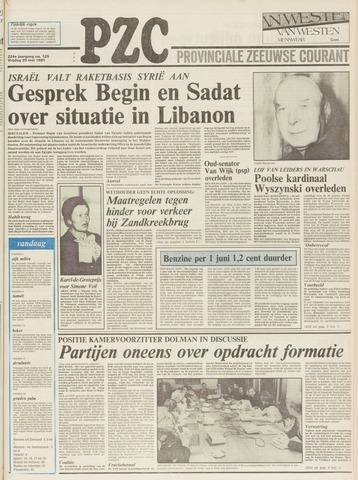 Provinciale Zeeuwse Courant 1981-05-29