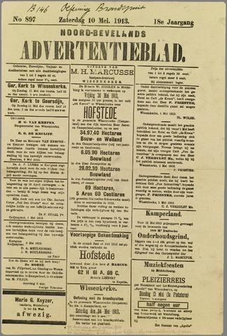Noord-Bevelands Nieuws- en advertentieblad 1913-05-10