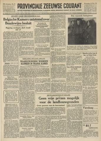 Provinciale Zeeuwse Courant 1952-02-13