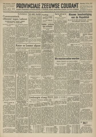 Provinciale Zeeuwse Courant 1947-12-22