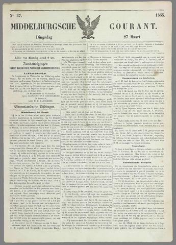Middelburgsche Courant 1855-03-27