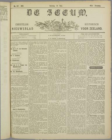 De Zeeuw. Christelijk-historisch nieuwsblad voor Zeeland 1897-06-12