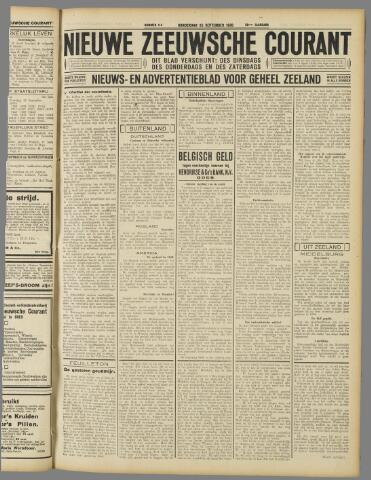Nieuwe Zeeuwsche Courant 1930-09-25