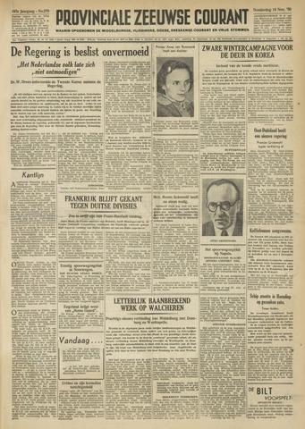 Provinciale Zeeuwse Courant 1950-11-16